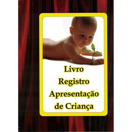 Livro Registro Apresentação de Criança