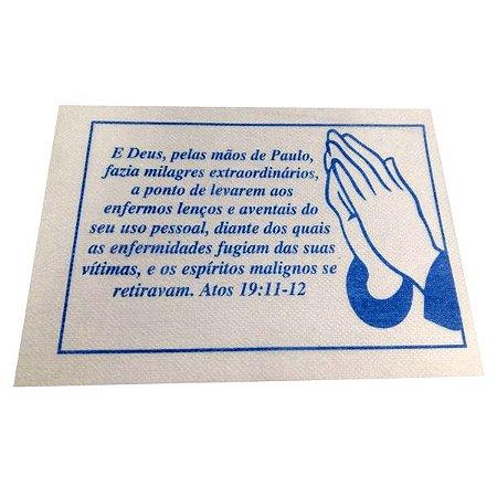 Lenço E Deus, pelas mãos de Paulo - 50 un