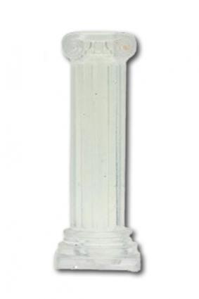Coluna de Plastico Transparente - 50 un