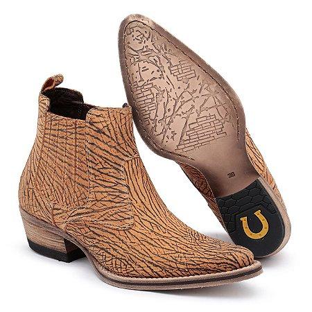 ad71a815d9 Bota Country Bico Fino Couro - Lider Calçados I Qualidade aos seus pés