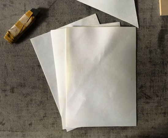 Pergaminhos Cortados A5- 10unidades