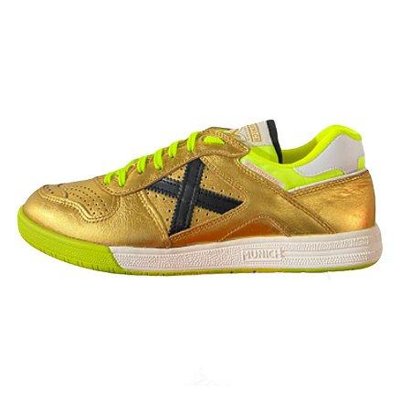 Tênis de Futsal Munich Continental - Dourado