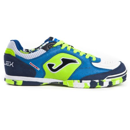 TENIS DE FUTSAL JOMA TOP FLEX 805 - ROYAL FLUOR