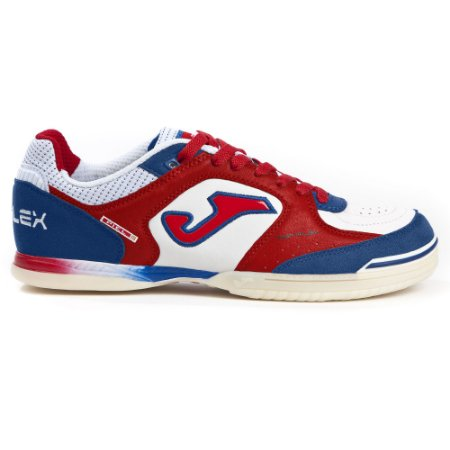 TENIS DE FUTSAL JOMA TOP FLEX 820 - WHITE RED