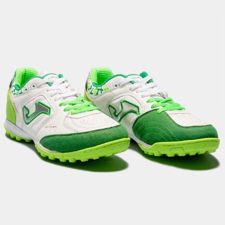TENIS DE SOCIETY JOMA TOP FLEX TURF 815 - WHITE VERDE