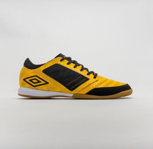 Tenis de  Futsal Umbro Chaleira ID - Amarelo e Preto