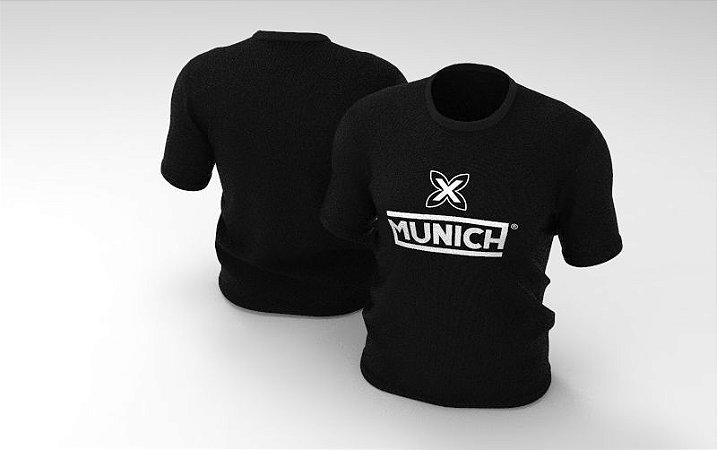 Camiseta Tradicional Munich - Preto