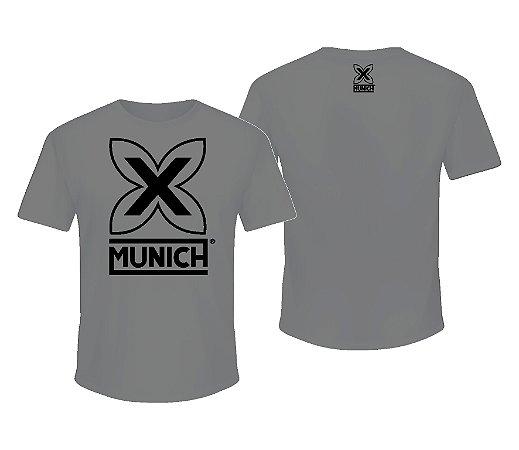 Camiseta Munich X   - Cinza
