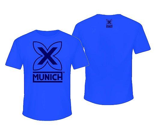 Camiseta Munich X - Azul Turqueza
