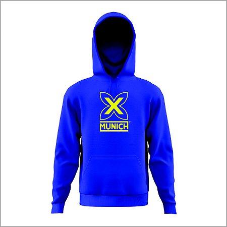 Blusa de Moletom Munich - Azul Turquesa
