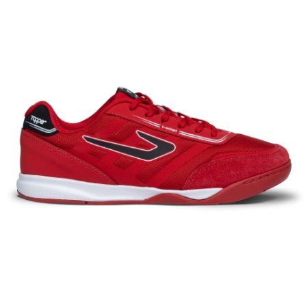 Tenis de Futsal Topper Letra II - Vermelho / Preto
