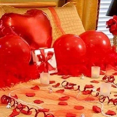 b42bb92ecd8f6b Kit Decoração Romântica Namorados Surpresa Petalas Velas