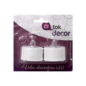Vela de LED decorativa Tok Decor