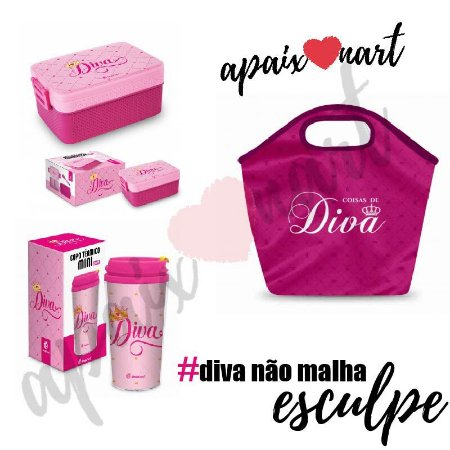 kit presente namorada #Diva não malha esculpe ;)