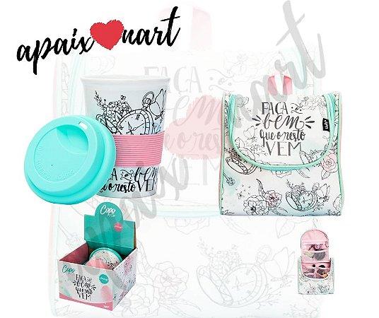 Kit Presente Dia Dos Namorados Necessaire Maleta + Copo :)