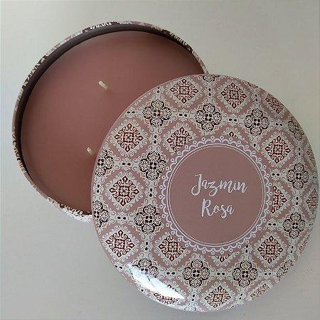 Vela decorativa aroma de Jasmin e Rosa