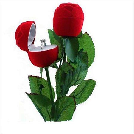 Porta Aliança/anel Em Formato De Flor