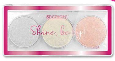 Paleta de Iluminadores Shine Baby SP Colors