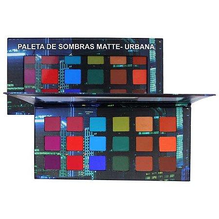 PALETA DE SOMBRAS MATTE URBANA LUDURANA