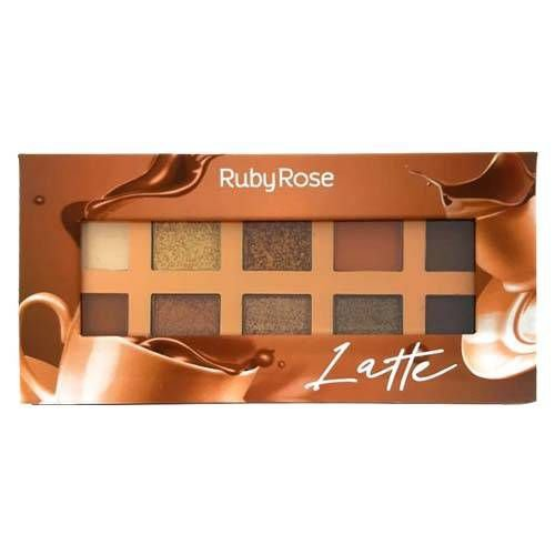 PALETA DE SOMBRAS LATTE RUBY ROSE