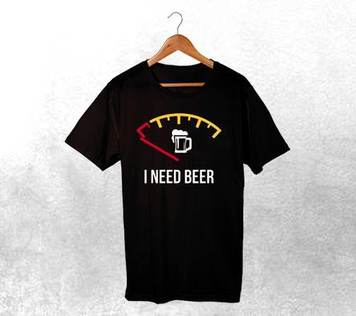 Camiseta I Need Beer