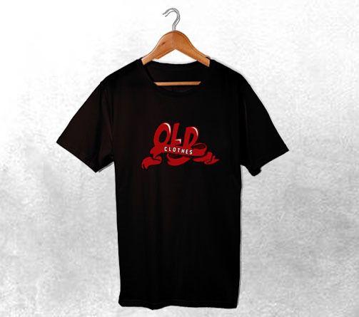 Camiseta Old Preta