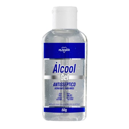 ÁLCOOL GEL ANTISSÉPTICO MY HEALTH 50g