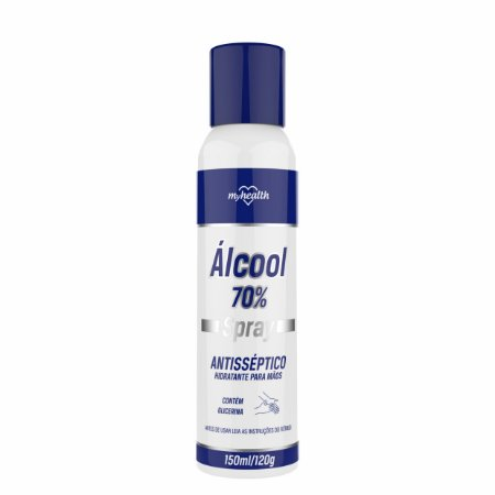 ÁLCOOL 70 SPRAY ANTISSÉPTICO 150ML MY HEALTH