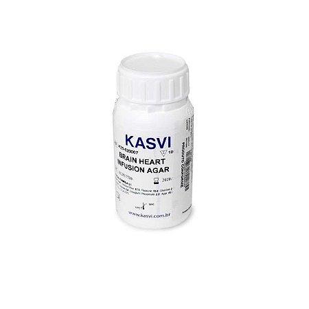 Agar Infusão Cérebro e Coração (BHI), frasco com 100 gramas, mod.: K25-620007 (Kasvi)