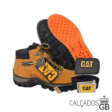 Bota Caterpillar Adventure Oferta Kit CAT