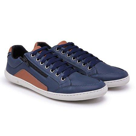 Sapatênis Doc Shoes Ziper Azul