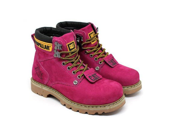 Bota Caterpillar Second Shift Rosa pink