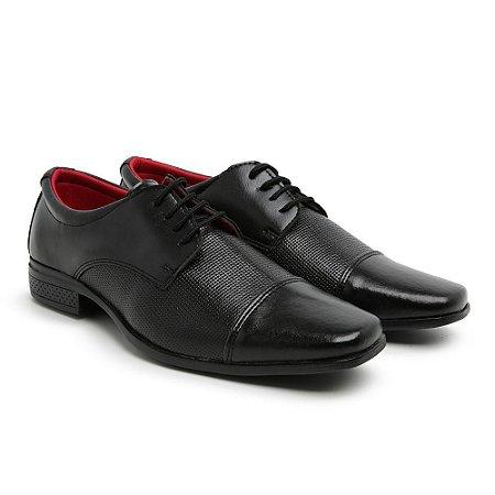 Sapato Social Masculino de Cadarço Furadinho