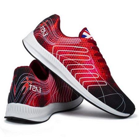 Tênis Esportivo East Shoes Cronos Vermelho