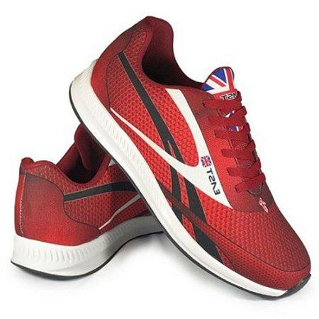 Tênis Esporte East Shoes Jaguar Vermelho