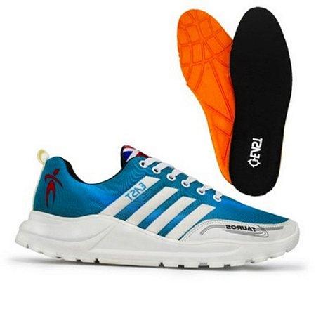Tênis Esporte East Shoes Taurus Advanced Azul Ciano
