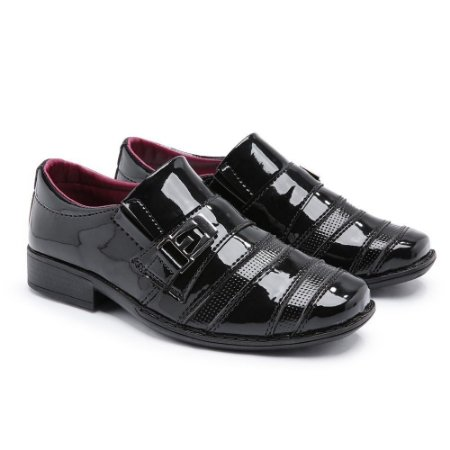 Sapato Social Masculino Infantil Preto