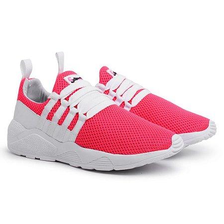 Tênis Esportivo Feminino Pink