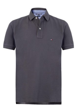 CAMISA POLO TH (UNITÁRIA) - COR GRAFITE