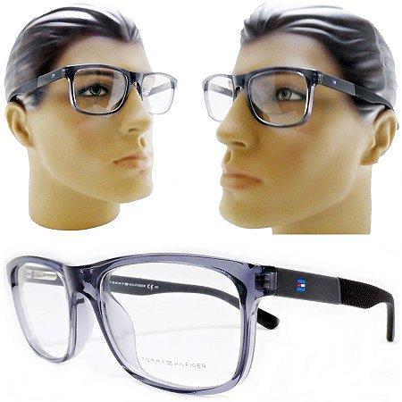 787b49c676d93 Armação Oculos Para Grau Masculino Grande quadrado Acetato Moderno 2018