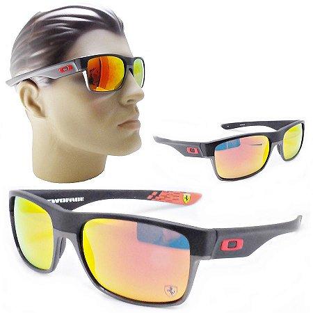 2263af93eaf2b Oculos De Sol Masculino Moderno Espelhado Quadrado Polarizado