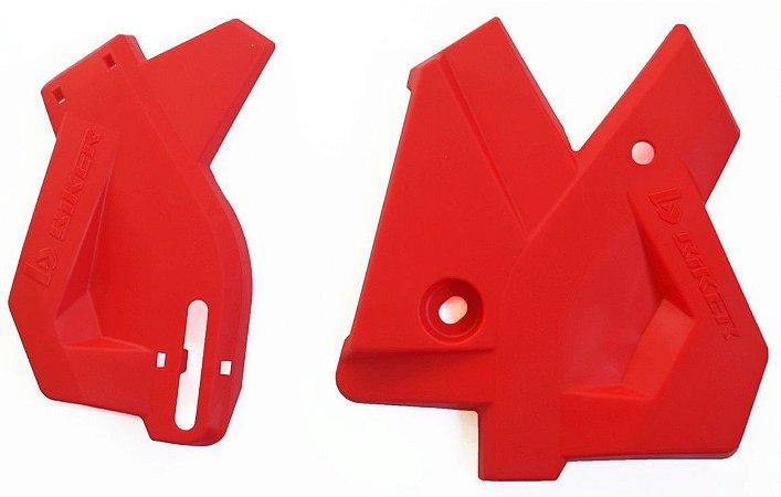 Protetor De Quadro Honda Crf 250 F - Vermelho