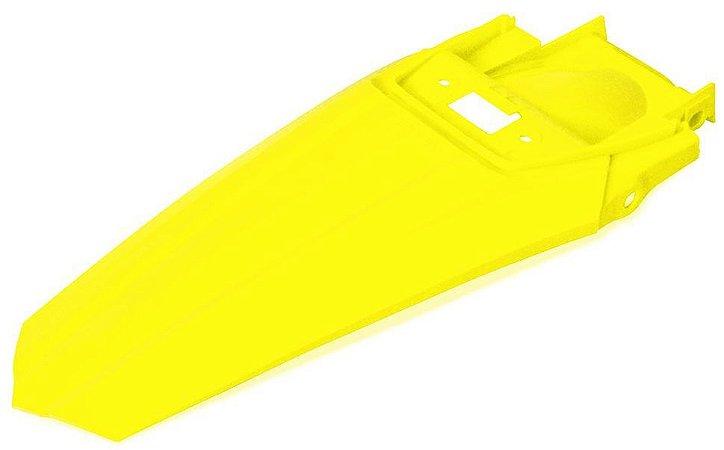 Paralama Traseiro Biker El1te Honda Crf 230 Amarelo Neon
