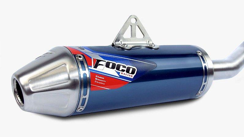 Escapamento completo Foco Racing Strong CRF 230