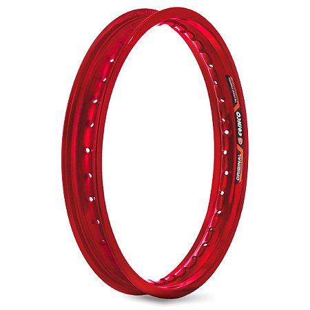 Aro De Roda Dianteiro Eninco Crf 230 - Vermelho