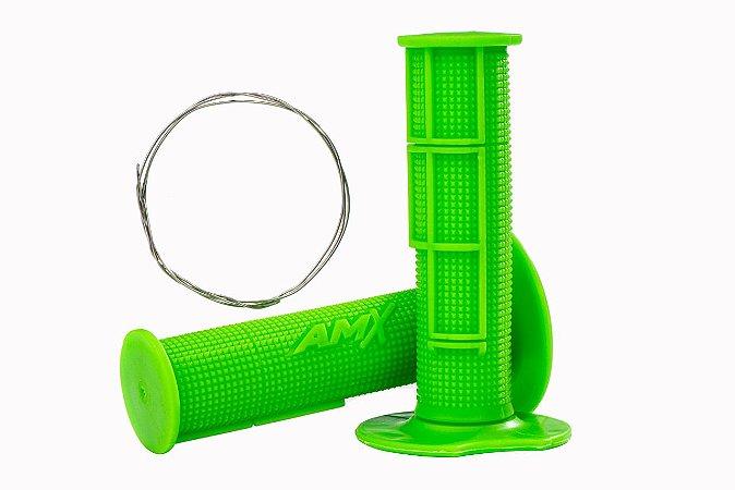 Manopla Pro Amx Flexível Top - Verde