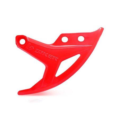 Protetor Disco Traseiro Honda Crf 250 - 450 Biker - Vermelho