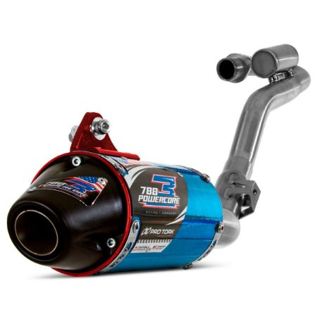 Escape Completo Powercore 3 CRF 230 Pro Tork - Azul