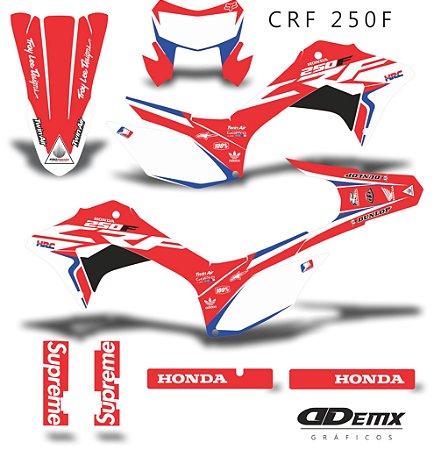 Kit Adesivo 3M Roczen HRC Crf 250F 2019