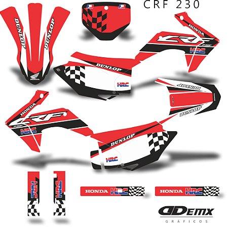 Kit Adesivo 3M Red Flag Crf 230